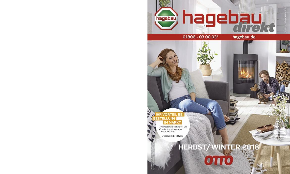 Hauptkatalog Herbst/Winter 2018 - hagebau.de