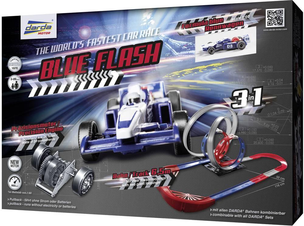 Darda Rennbahn Blue Flash 50246