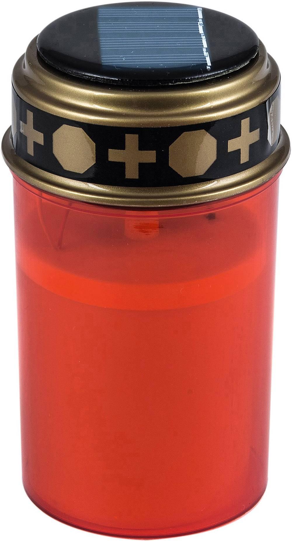Heitronic-35960-Solar-Grablicht-LED-Gelb-Rot Indexbild 2