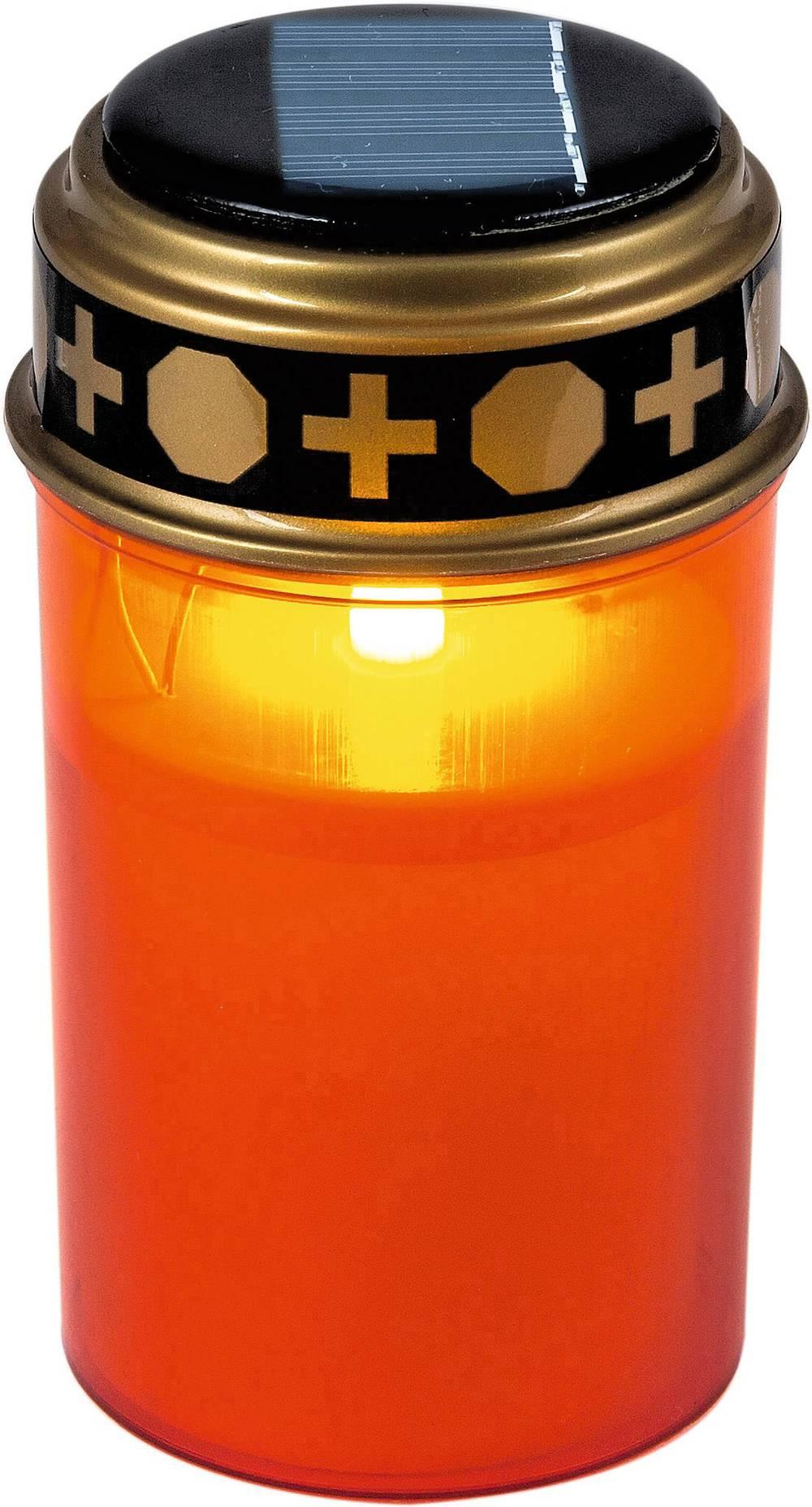 Heitronic-35960-Solar-Grablicht-LED-Gelb-Rot