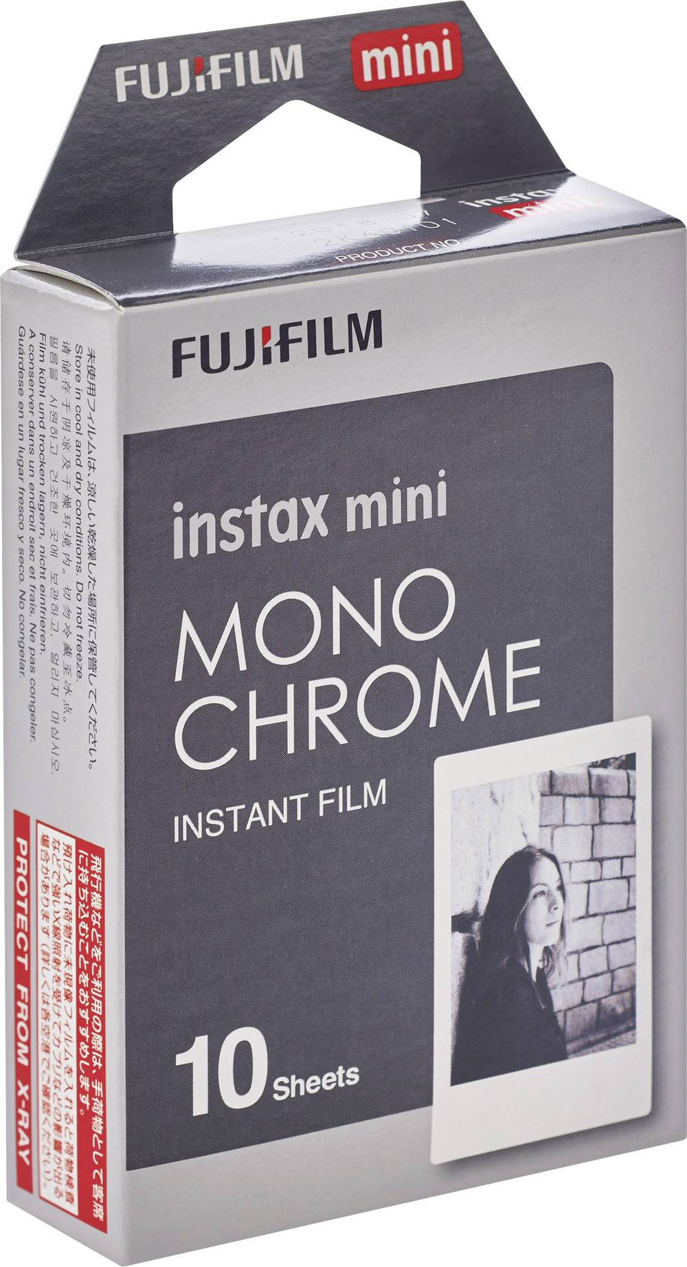 Fujifilm-Instax-Mini-Monochrome-Sofortbild-Film Indexbild 2