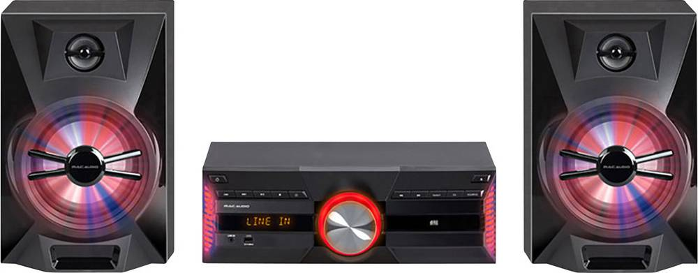 Mac-Audio-MPS-701-Stereoanlage-AUX-Bluetooth-CD-DAB-UKW-USB-720W-Schwarz