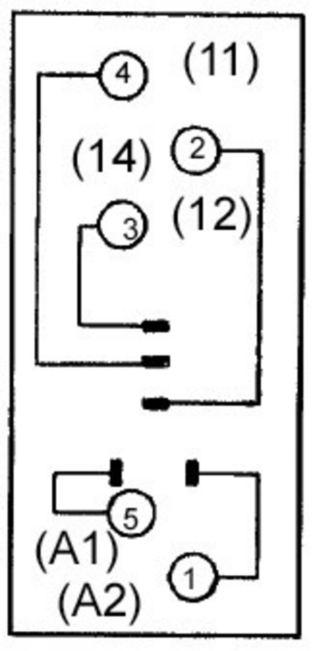 Omron P2RF-05E Relaissockel 1 St. Passend für Serie: Omron Serie G2R